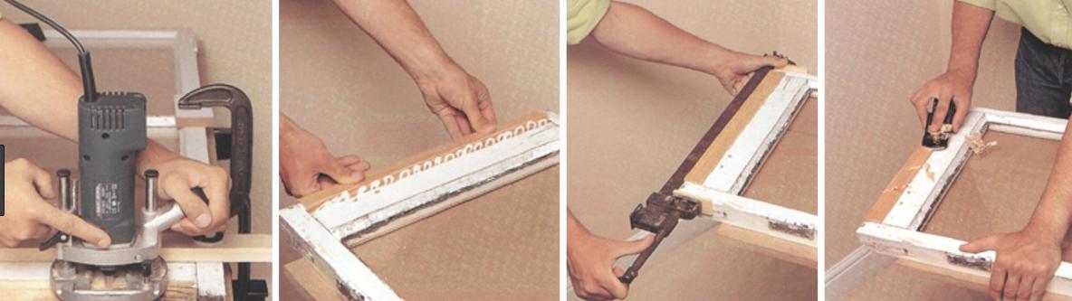 ремонт окон деревянных, фото