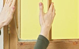 Замена стекла в деревянном окне
