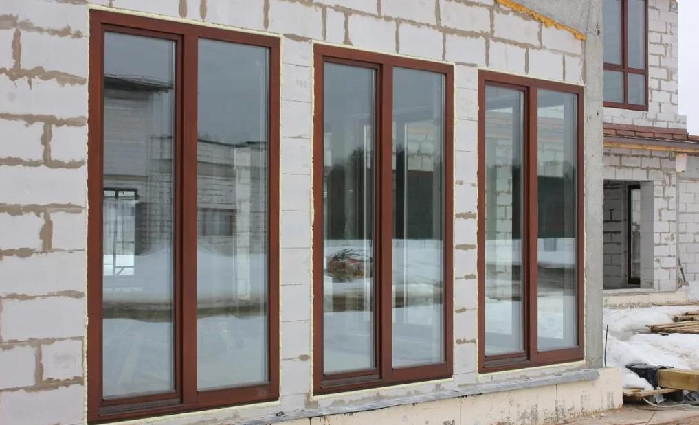 окна для дачи из дерева, фото