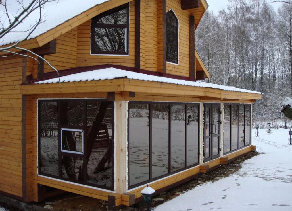 панорамные окна для дома, фото