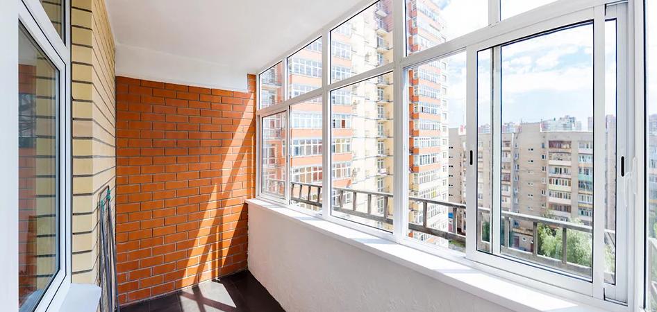 остекление балкона, фото