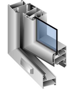 балконное окно из алюминия