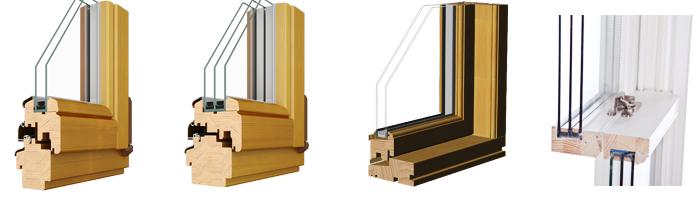 замена стекла в деревянном окне фото