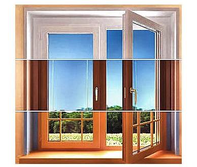 окрашивание деревянных окон фото