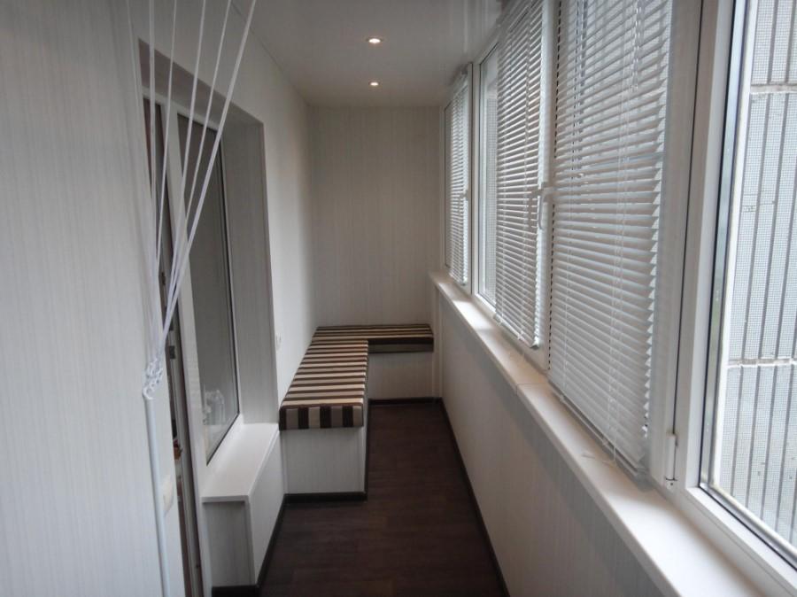 обшивка балкона и лоджии под ключ
