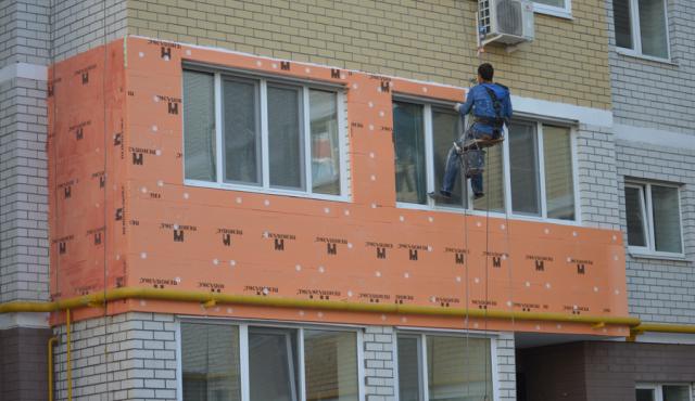 внешнее утепление балкона